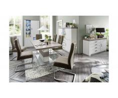 JUSTyou Centinela Table de salle a manger Pin | Chene