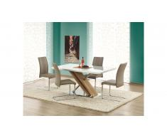 JUSTyou Nexus Table salle a manger 160x90x76