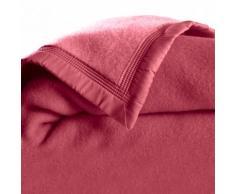 Couverture laine 1er prix 350g/m2 - framboise