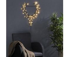 CUPID - Applique murale 50 LED Renne H50cm - Guirlande et objet lumineux Xmas Living Glass designé par