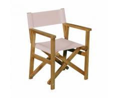 Chaise de casting pour enfant rose 40x34x54cm