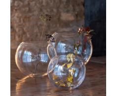 Vase boule transparent D30cm