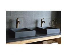 Vasque en pierre noire 40 & 60x40 absolue Basalte - KIAMA