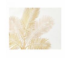 Panneau sculpté palmier 110x90