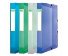 Boîte de classement 2nd Life 24x32cm PP 7/10e coloris assortis, dos 4cm, capacité 300 feuilles - Lot de 12