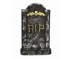 Décoration pierre tombale Halloween 63 x 35 cm Taille Unique
