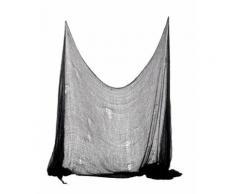 Décoration drap noir Halloween 300 x 75 cm TAILLE UNIQUE