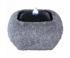 Velda Fontaine en pierre avec lumière LED Carré 851288