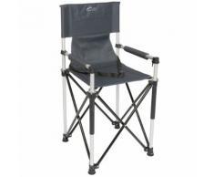 Red Mountain Chaise haute pliable pour enfants Aluminium Gris
