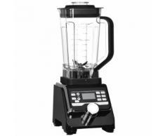 vidaXL Mixeur numérique 1400 W 2 L Noir