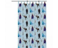 Disney Rideau pour enfants La reine des neiges 250 x 140 cm Bleu