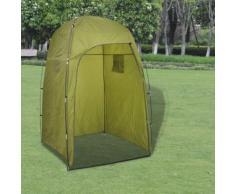 vidaXL Tente de douche/WC/dressing Vert