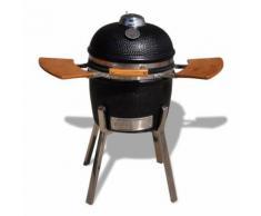 vidaXL Barbecue à charbon Kamado Céramique 81 cm
