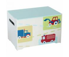Worlds Apart Coffre à jouets 60 x 39 x 39 cm Blanc WORL230004