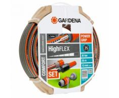 GARDENA Ensemble de tuyau d'arrosage six pièces Comfort HighFLEX 20 m 18064-20