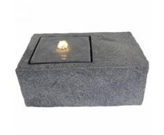 Velda Fontaine en pierre avec lumière LED Rectangulaire 851178