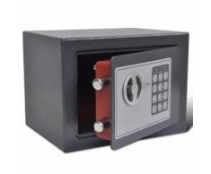 vidaXL Coffre-fort numérique électronique 23 x 17 x 17 cm
