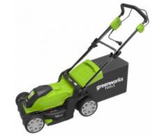 Greenworks Tondeuse à gazon électrique GLM1241 230 V 41 cm 2505207