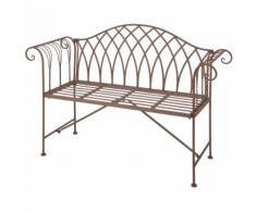 """Esschert Design Banc de jardin Métal Style """"Old England"""" MF009"""