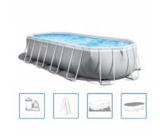 Intex Ensemble de piscine ovale 610x305x122 cm 26798GN