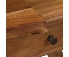 vidaXL Armoire latérale Bois d'acacia massif 120 x 36 x 50 cm