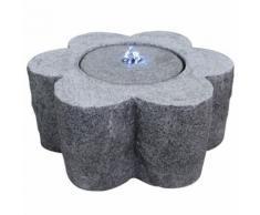 Velda Fontaine en pierre avec lumière LED Fleur 851183