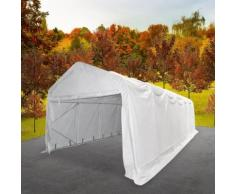vidaXL Tente de rangement PVC 6 x 12 m Blanc