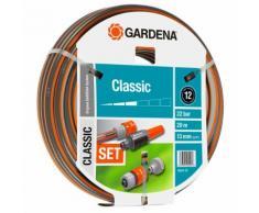 GARDENA Ensemble de tuyau d'arrosage en spirale Classic 13 mm 20 m 18004-20