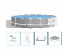 Intex Ensemble de piscine ronde Prism Frame 549x122 cm 26732GN