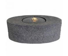 Velda Fontaine en pierre avec lumière LED Ovale 851180