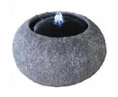 Velda Fontaine en pierre avec lumière LED Boule 851289