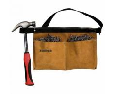 Toolpack Tablier d'outils à poche double Universal Cuir 366.030
