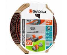GARDENA Ensemble de tuyau d'arrosage Comfort FLEX 13 mm 20 m 18034-20