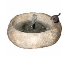 Velda Fontaine en pierre avec bol à oiseaux 851284
