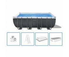 Intex Ensemble de piscine Ultra XTR Frame Rectangulaire 549x274x132 cm