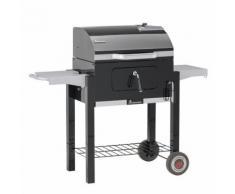 Landmann Barbecue chariot à charbon de bois Dorado 56 x 42 cm Noir