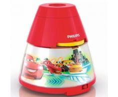 Philips Veilleuse et projecteur 2 en 1 Disney Cars Rouge