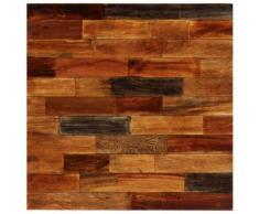 vidaXL Table de bar Bois recyclé solide 70 x 70 x 106 cm
