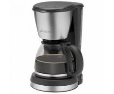 Clatronic Machine à café KA 3562 noire-inox