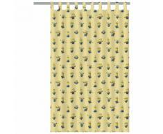 Minions Rideau pour enfants 250 x 140 cm Jaune ASSO220008