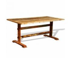 vidaXL Table de salle à manger vintage Bois recyclé
