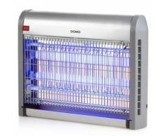 DOMO Lampe anti-insectes avec lumière UV 20 W 2500 V Argenté