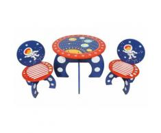 Table et chaises pour enfant Kidsaw Explorer