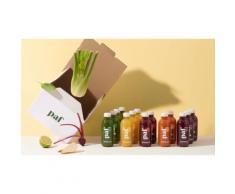 Jus cure Detox PAF : 10 jus de Légumes et Fruits PAF - Pressé à Froid
