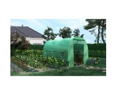 Serre de jardin Tunnel :7 m² - 3,5 x 2 m