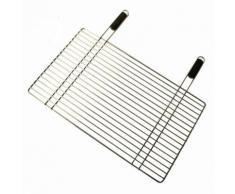 """""""Grille pour barbecue en acier chromé 40 x 68 cm"""""""