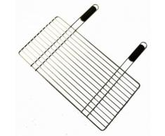 """""""Grille pour barbecue en acier chromé 30 x 58 cm"""""""