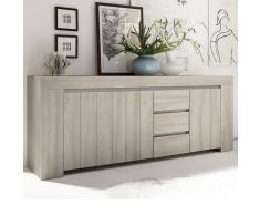 NOUVOMEUBLE Enfilade moderne couleur bois gris MURANO