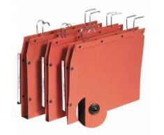 Manutan - 25 Dossier suspendu kraft à boutons-pression tub ultimate - Pour armoire