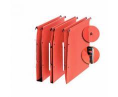 Elba Oblique - 25 Dossier suspendu à boutons-pression médium + - Pour armoire - Fond 30 mm